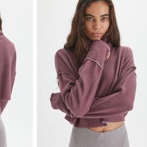 NWT Out From Under Camino Long Sleeve Crop Top XS